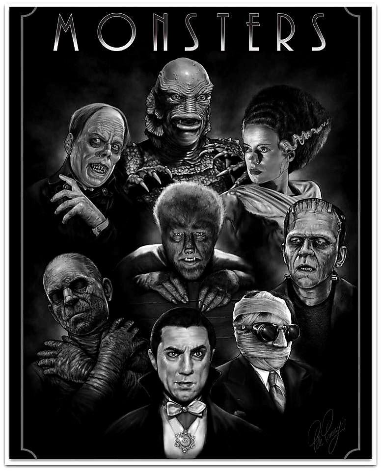 Classic Universal Monsters Wallpaper (72+ images)