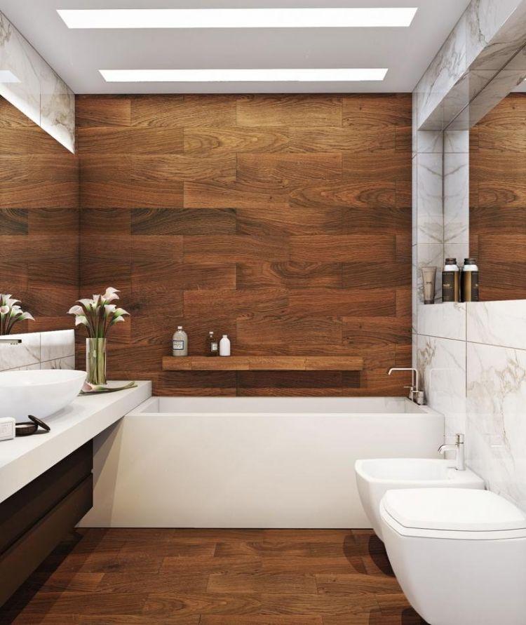 Carrelage sol salle de bain imitation bois en 15 id es top for Carrelage 84