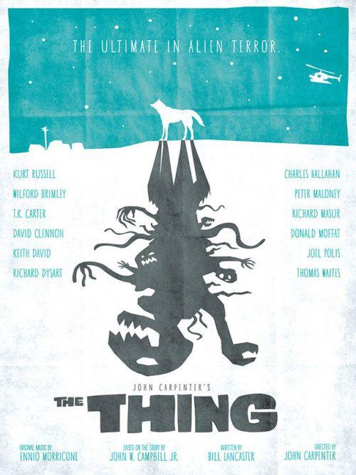Minimal movie posters by Wonderbros.