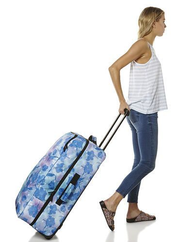 105 84L VOLCOM PATCH ATTACK MED 84L WHEELIE TRAVEL BAG - BAHAMA   BahamasWater 3f9a6e8dd2e8d
