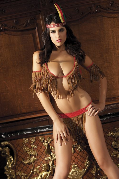 e36ee69470 TeePee Nights Sexy Indian Lingerie Costume (Someone Else s Culture Isn t  Your