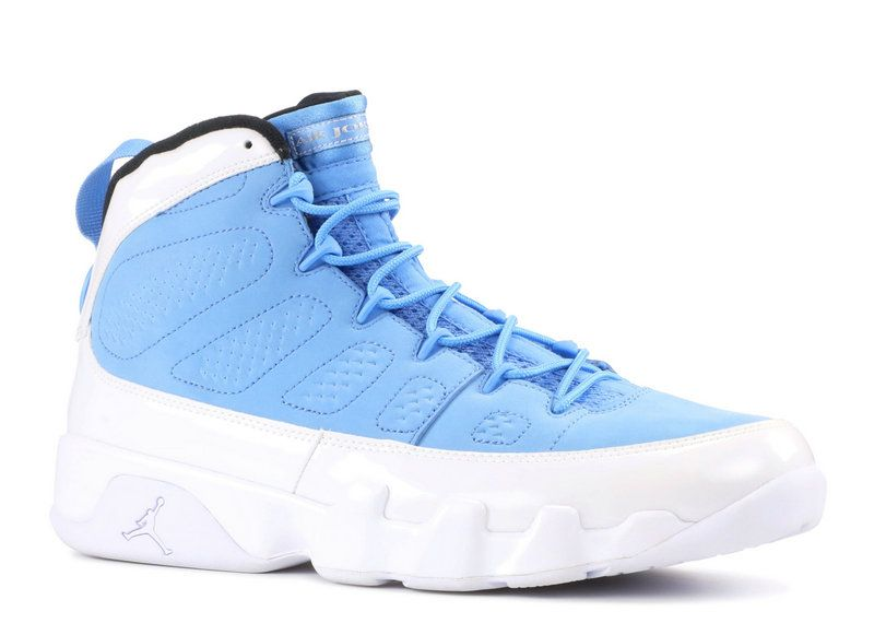 2018 Cheap AIR JORDAN 9 RETRO FOR THE LOVE OF THE GAME university blue white-black  302370 401 For Sale b3c9883e0