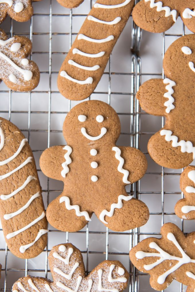 Soft & Chewy Gingerbread Men Cookies are perfectly spiced