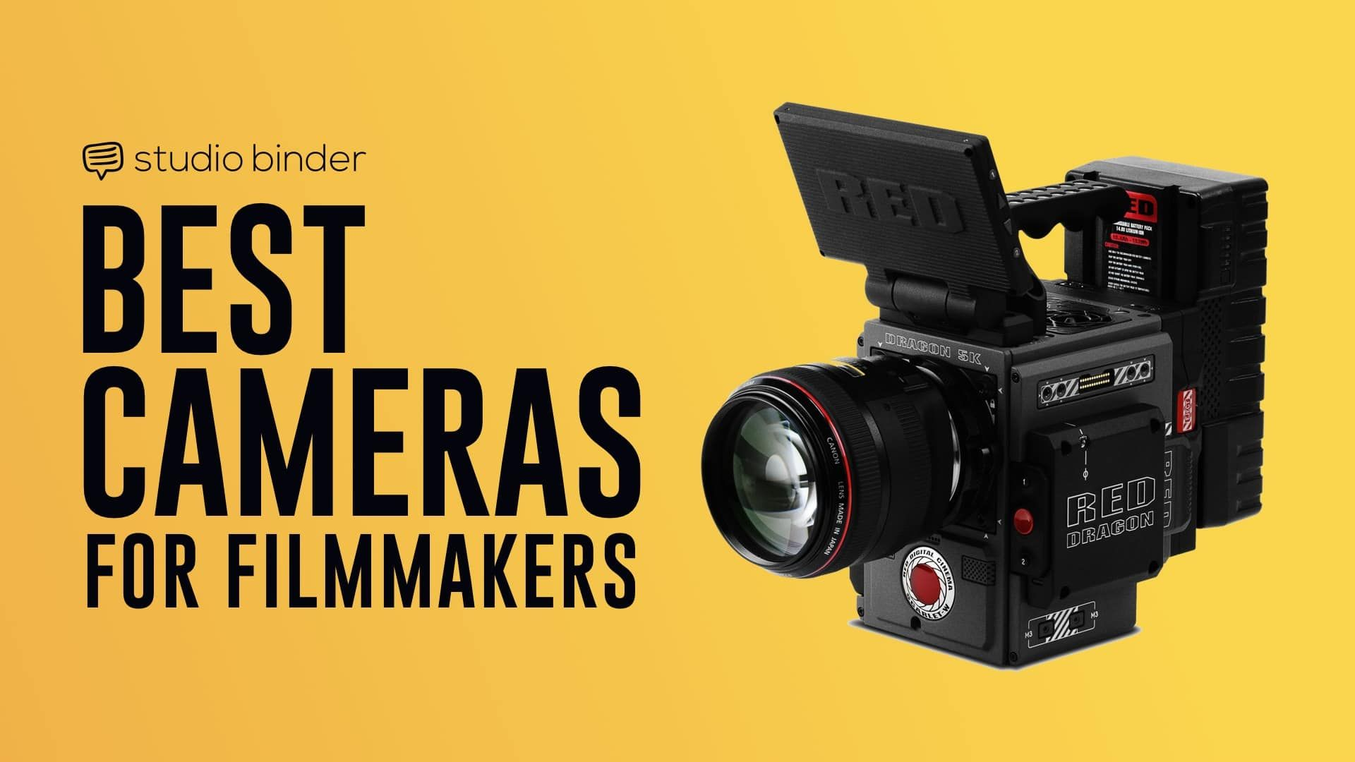 7 Best Video Cameras for Filmmakers in 2019 #Videography