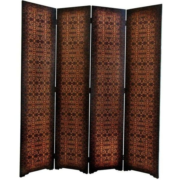 6 ft. Tall Olde-Worlde European Room Divider (505 CAD) ❤ liked on Polyvore featuring home, home decor, panel screens, screens, room dividers, folding room dividers, folding screens, colorful home decor, old world home decor and european home decor