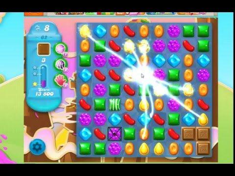 Candy Crush Saga Soda Levles 61 62 63 Playthrough No Booster Candy Crush Saga Candy Crush Jelly Saga Candy Crush Soda Saga