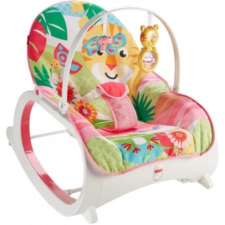 13733515c173 Fisher-Price Infant-To-Toddler Rocker with Removable Bar