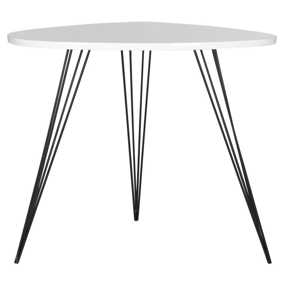 Wynton End Table White Safavieh End Tables Table White