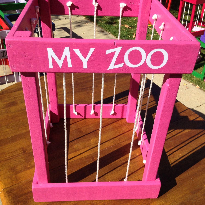 Stuffed Animal Storage My Zoo Wide By Pickletoe On Etsy 58 00 Stuffed Animal Storage Kids Decor Toy Rooms