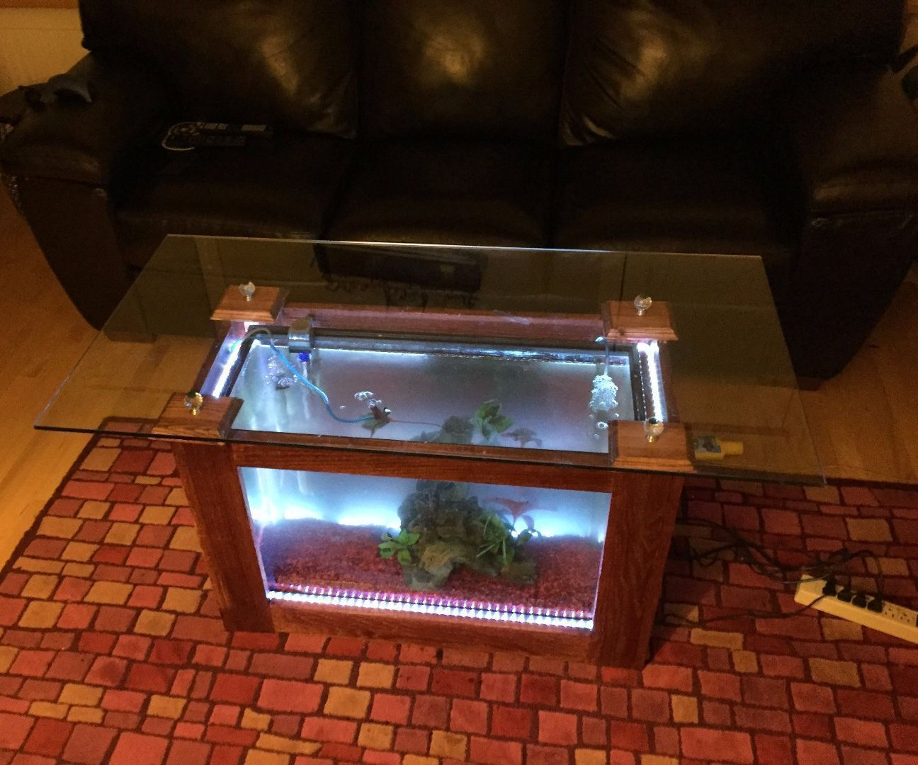 Fish Tank Coffee Table Fish tank coffee table Fish tanks and