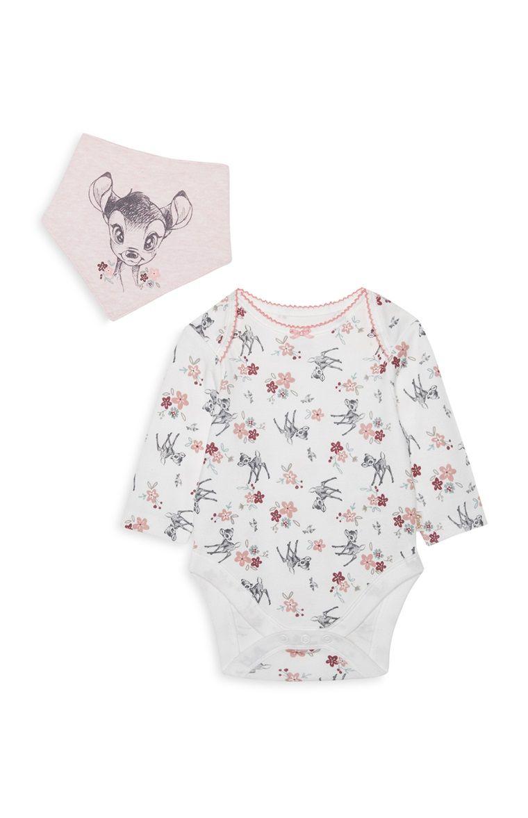 be6a4ba2ada3 Primark - Baby Girl Bambi Bodysuit Set