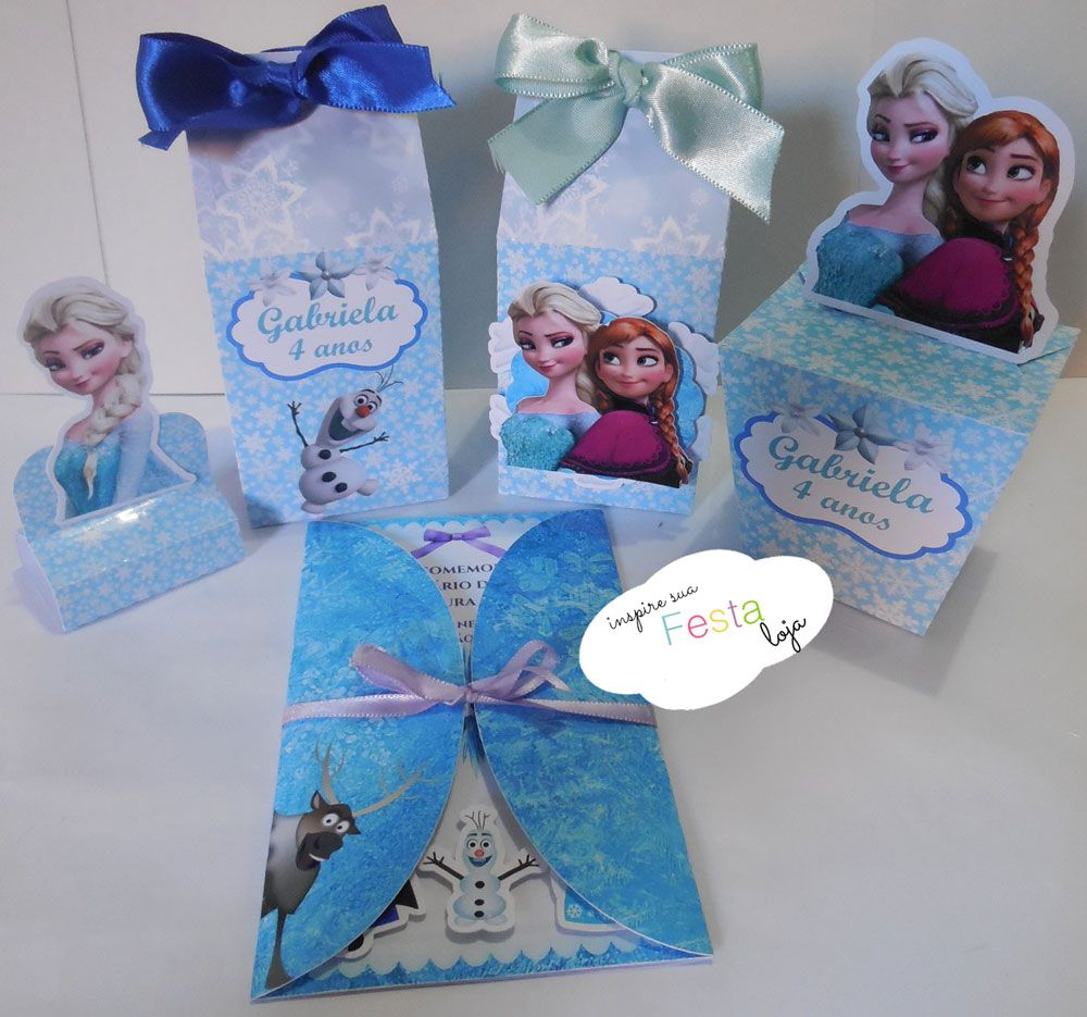 ... Lembrancinha frozen fever biscuit