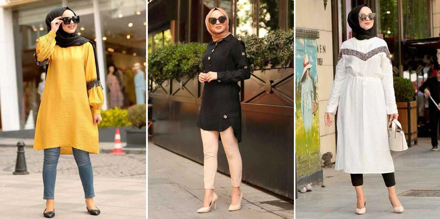 اقتراحات لملابسك من فصل الصيف للخريف وهكذا تنسيقها مع حجابك Dresses For Work Fashion Hair Videos