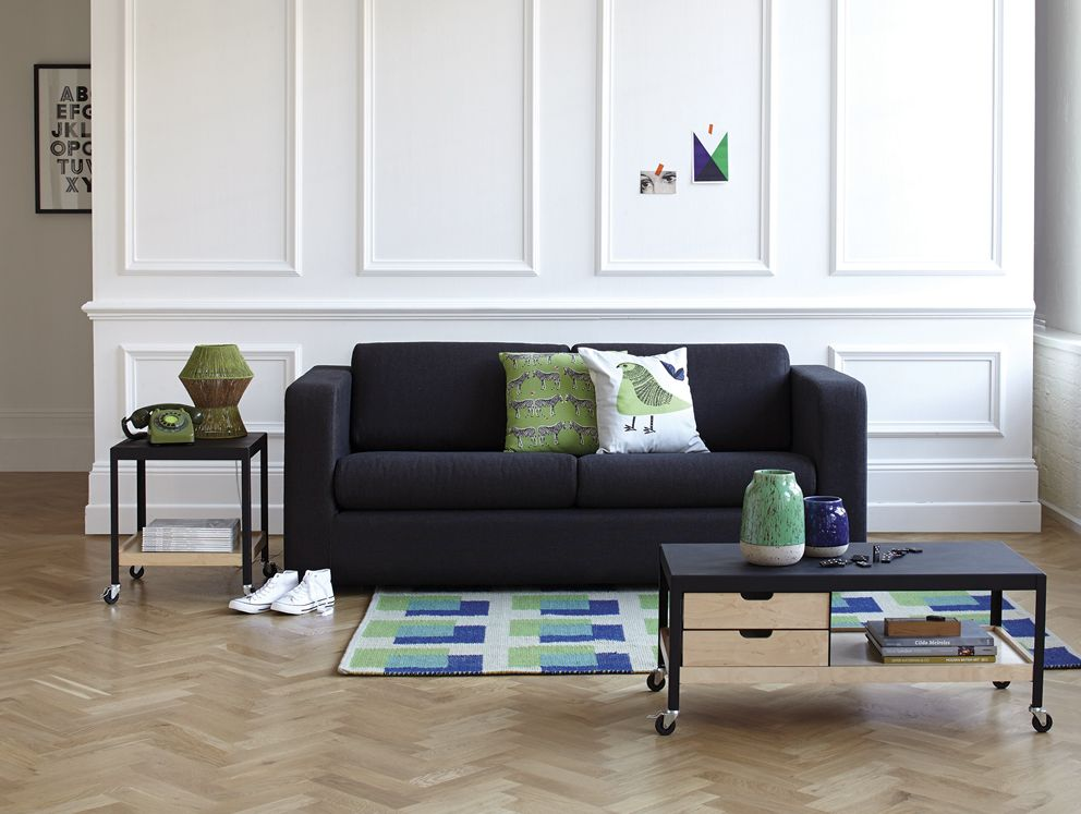 The Porto sofabed is handmade, and equivalent to a small double ...
