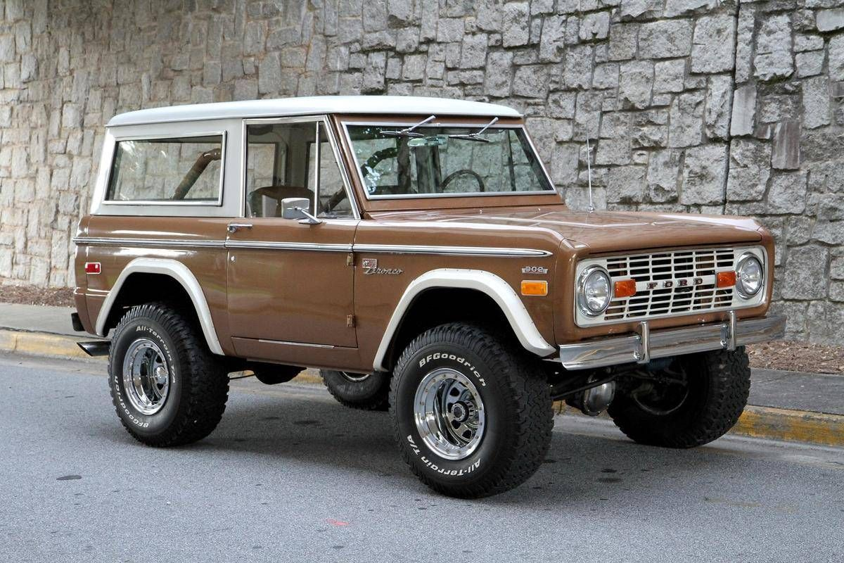 1974 Ford Bronco Sport. Ford bronco