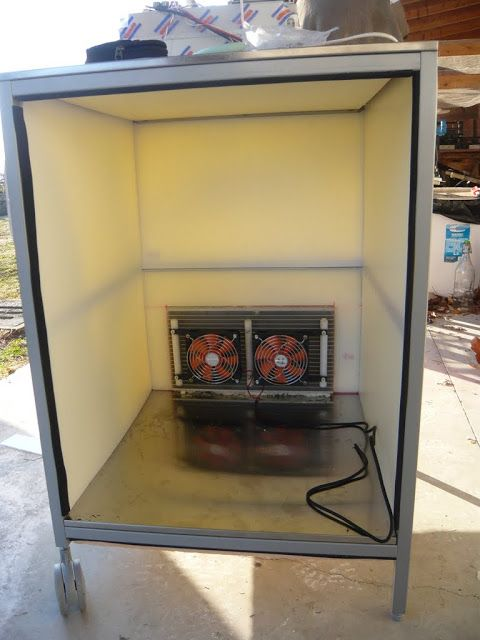 Arduino controlled cooling heating system for beer for Craft a brew fermenter