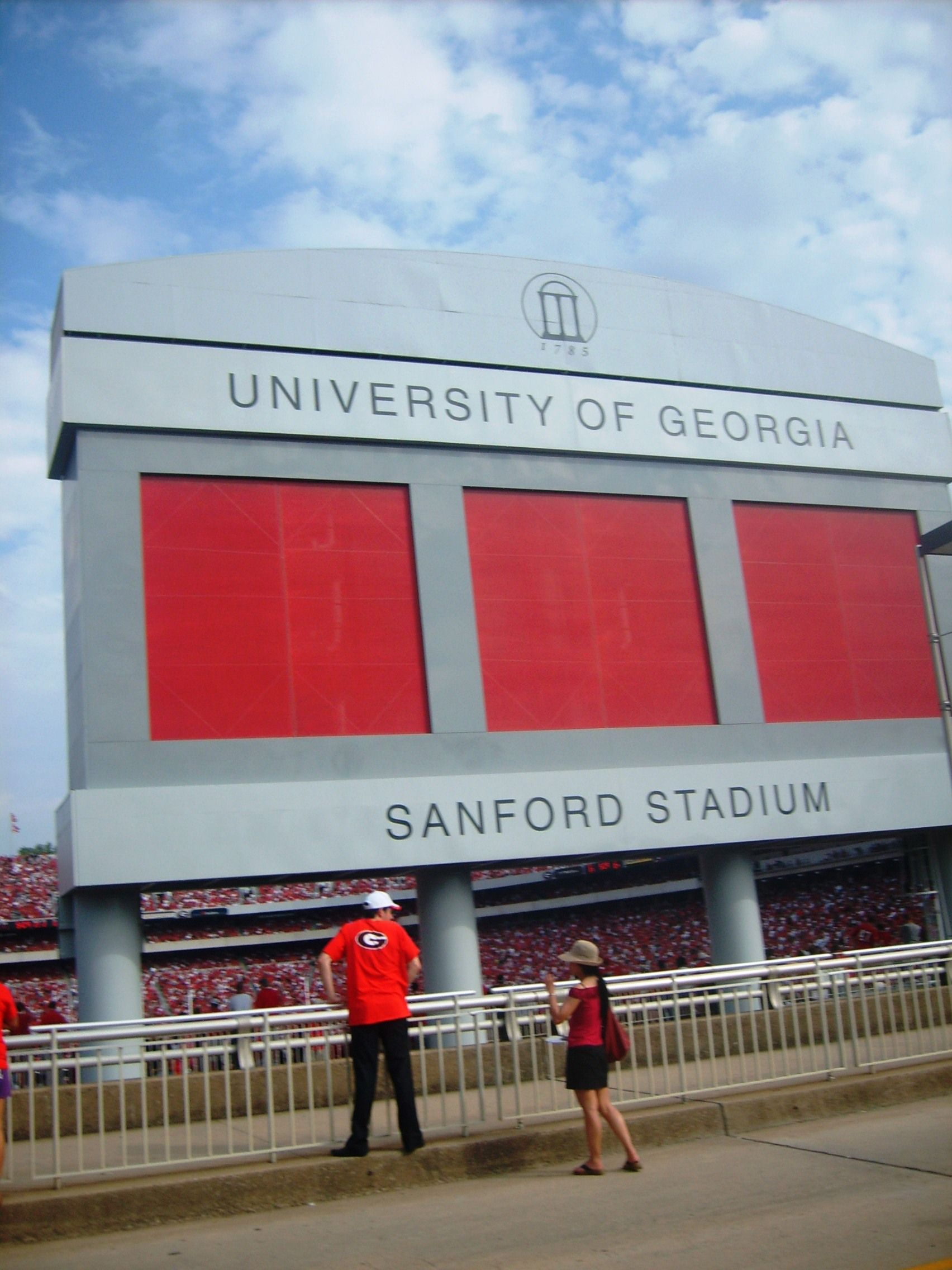 dbe0f374ee2 Sanford Stadium at The University of Georgia  UGA  Dawgs