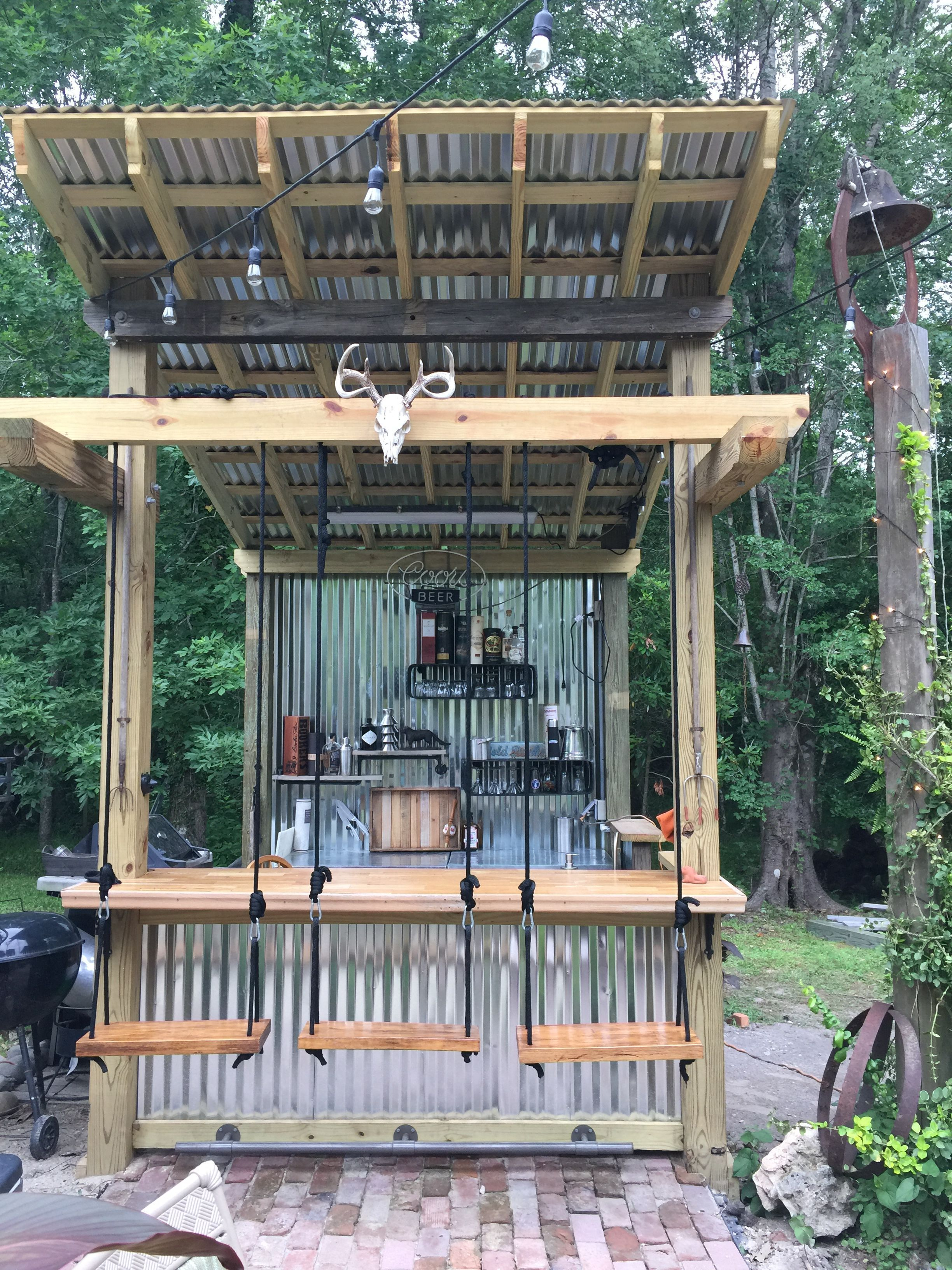 Locate Ideas For Uncovered Flare Pit And Fireplace Designs That Let You Get As Simple Or As Fancy As Outdoor Kitchen Plans Backyard Bar Outdoor Kitchen Design