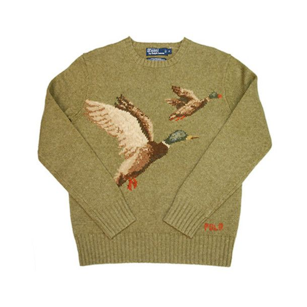 bb14efab51e30 vintage menswear mallard ralph lauren sweater mens sweater duck ralph lauren  green sweater