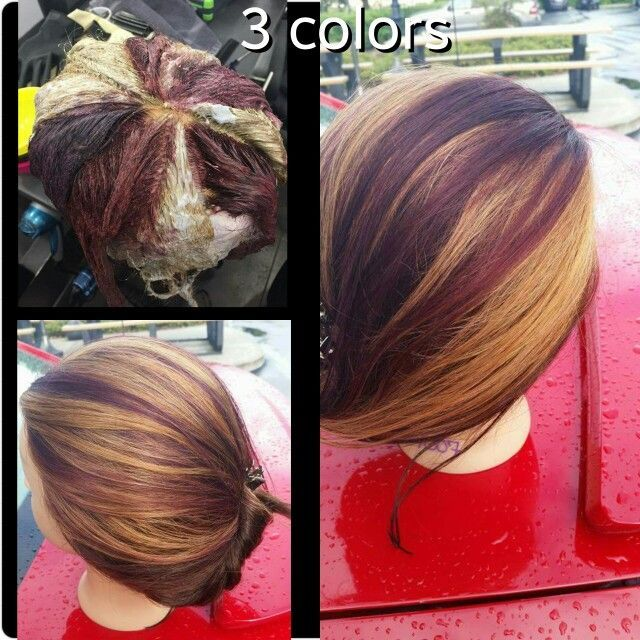 Pin by Jeorjia Toliver on Hair   Hair color techniques, Hair ...