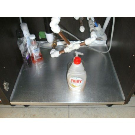 Kitchen Sink Base Protector Liner Aluminium 6 Sizes 500 1200mm