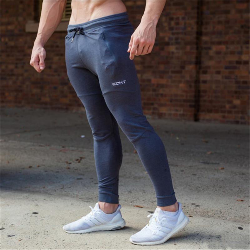 Mens Sport Pants Jogging Pants Men Breathable Bodybuilding Sweatpants Pencil Pants Gym Training Running Pants Joggers Leggings Sports & Entertainment