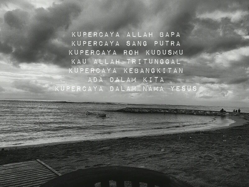 Ku Percaya (Pengakuan Iman Rasuli) The Bahasa Indonesia