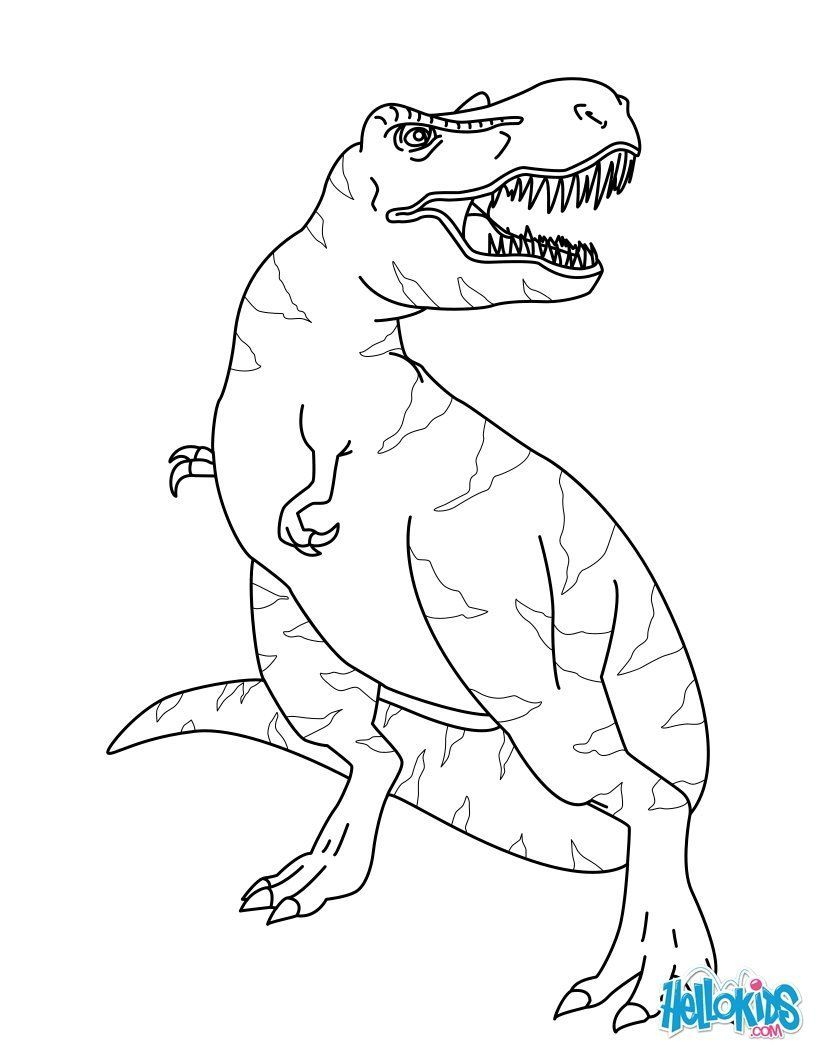 T-Rex-Coloring-Page (5).jpg (820×1060) | Coloring (Раскраски ...
