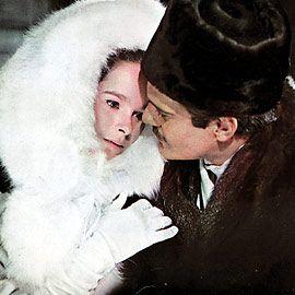 Nothing Elegant Winter S Muse Geraldine Chaplin Dr Zhivago Zhivago Geraldine Chaplin