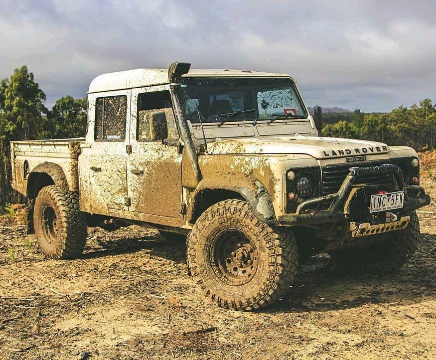 The Defender Of Australia Defender130 Aus Follow Us Dailyoverland Landrover Land Rover Land Rover Defender Defender