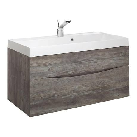 Crosswater Glide II 100 Vanity Unit with Cast Mineral