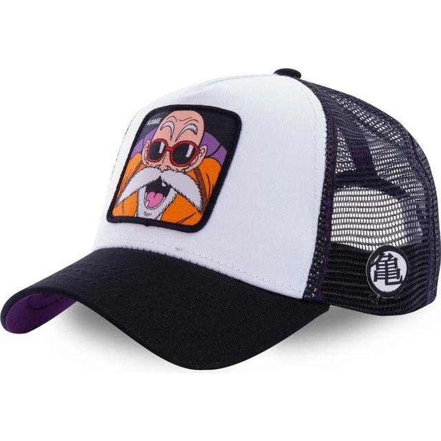 CAPSLAB Dragon Ball Goku Trucker Cap Basecap Baseballcap Truckercap Meshcap