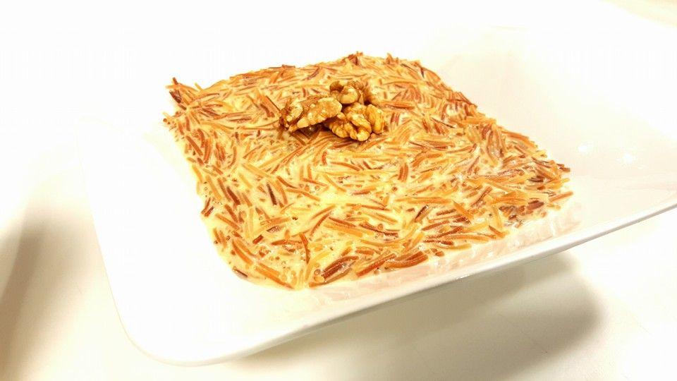 شعرية باللبن والقشطة Food Arabic Food Spices