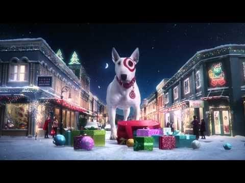 Big Dog Christmas Ad Holiday Market Target Holiday