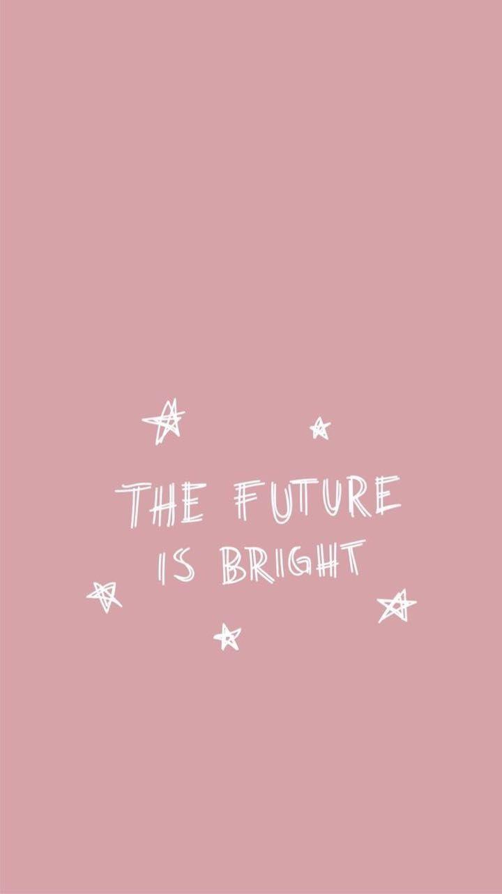 彡 Pinterest Amaranthingly Fondo Pink The Future Is Bright