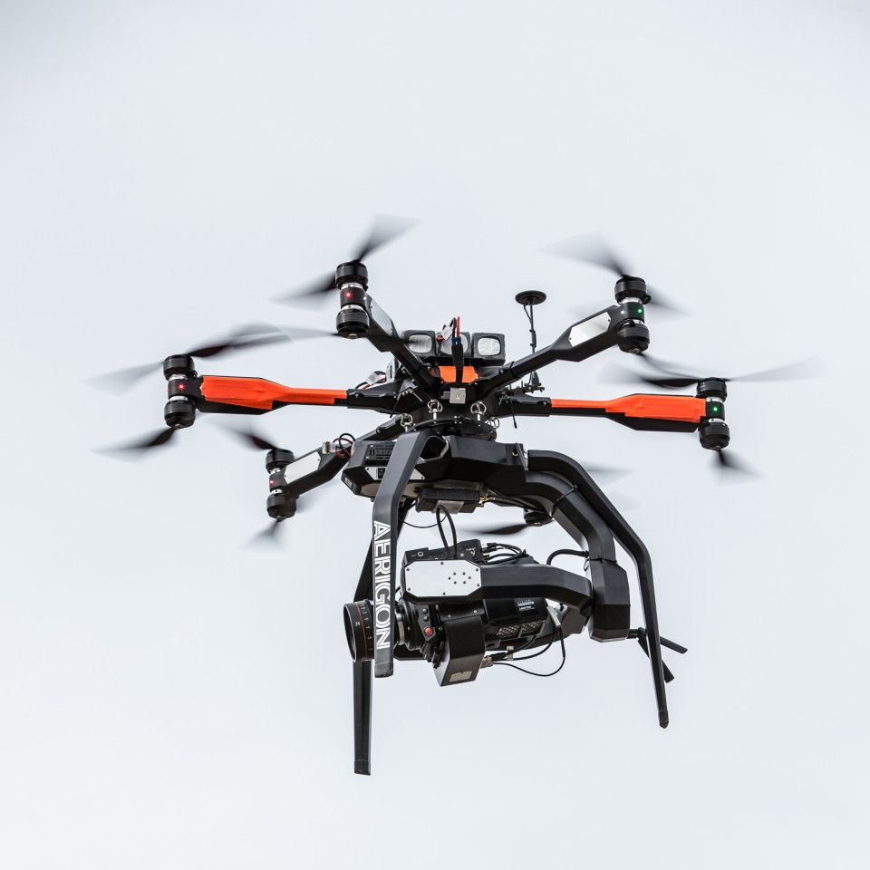 Aerigon AH3 Drone Is Designed For Professional Cinema And Broadcast Production Use With Its Lift