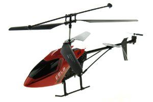 """VELA G9 3 Channel RC Large Helicopter 17"""" Long - Red Color by Vela. $39.99. No Assembly required, Ready To Fly!. The transmitter has an Alignment Trim, a Charging and Power.Indicator, a Left/Right Lever and a Trimmer. VELA G9 3 Channel RC Large Helicopter 17"""" Long - Red Color. Suitable for indoor flying only. Full 3 channels: up, down, left, right, forward, and backward. This Brand New 3 Channel Large size Metal RC helicopter is 1 of the world's newest and lightest RC Hel..."""