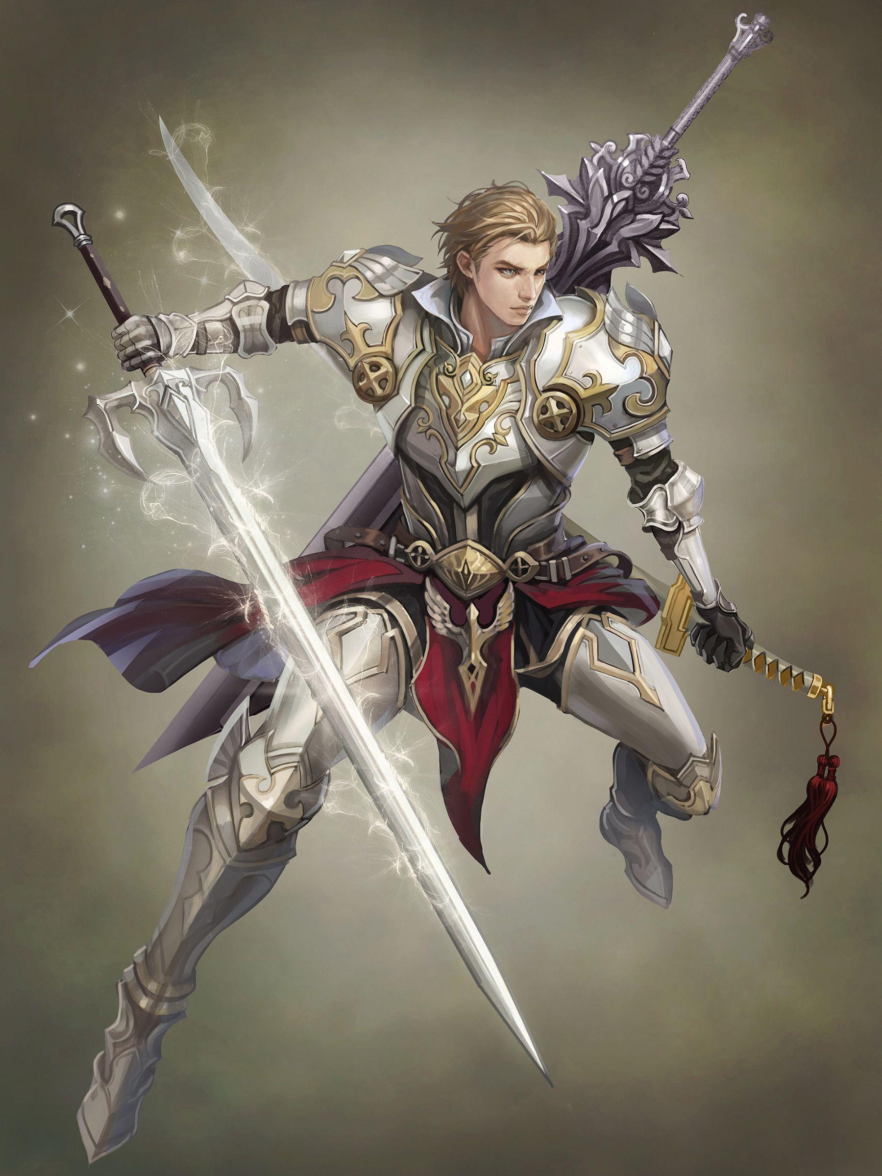 ArtStation - Sword master, Yunjae Kim
