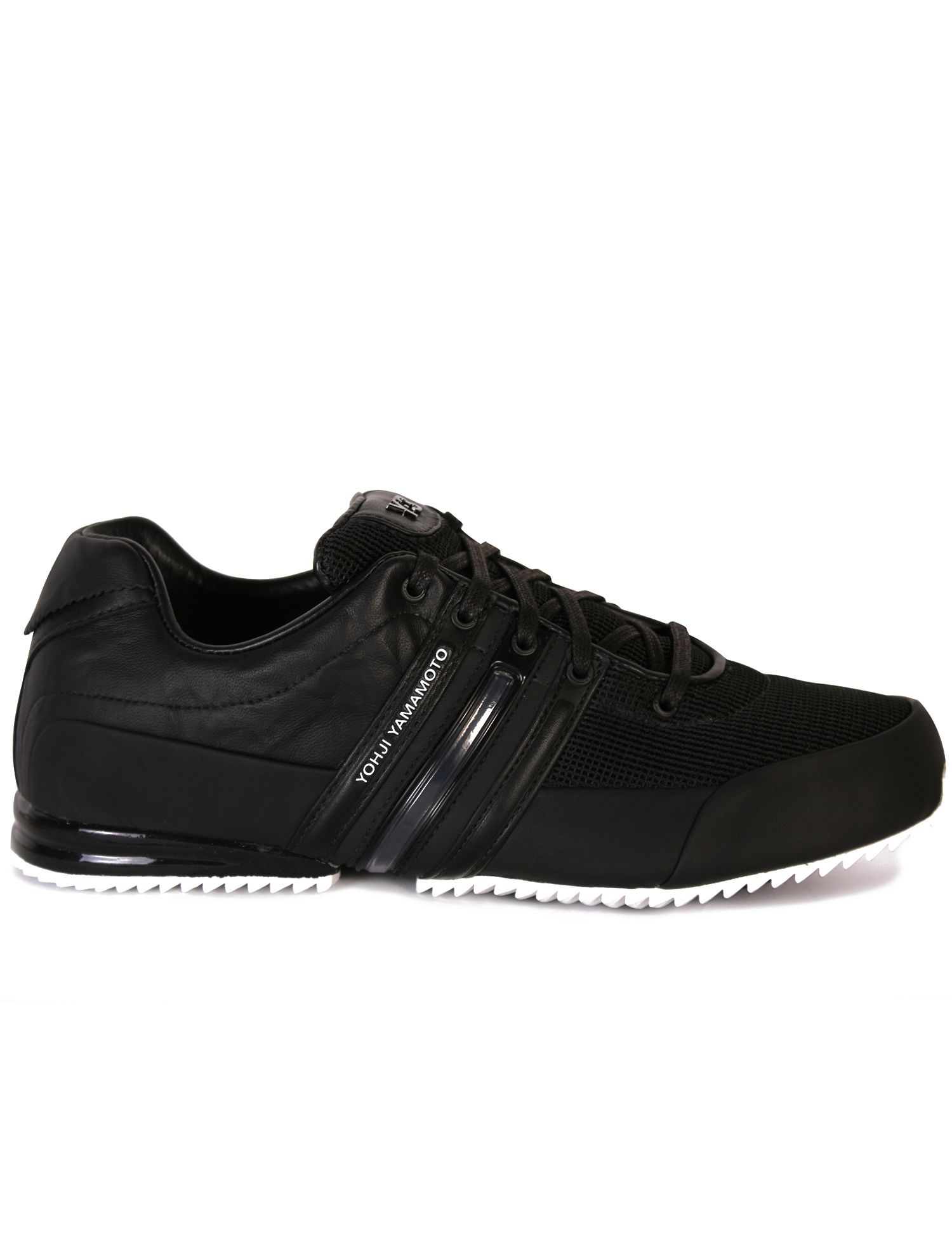 77e662f01ba92b Y3 Black Sprint Trainers - Black sprint trainers from the Y3 Yohji Yamamoto  collection feature a