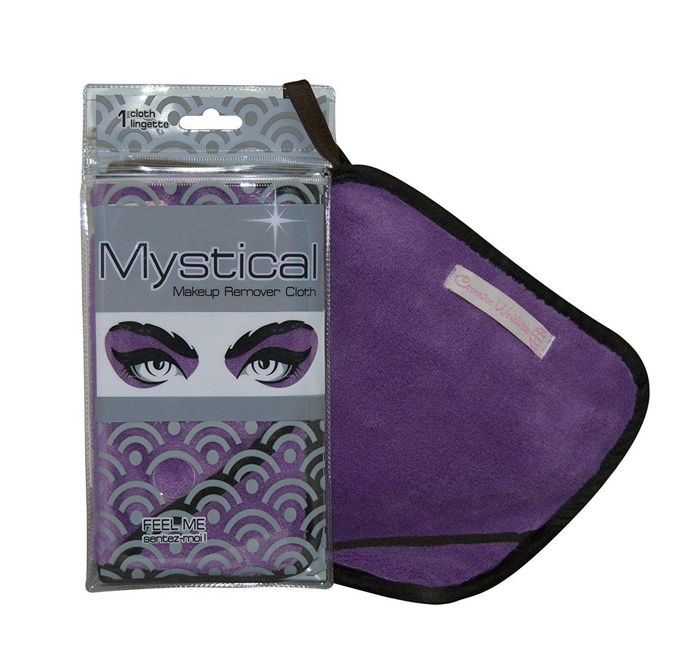 Mystical Makeup Remover Cloth Purple Reusable Facial
