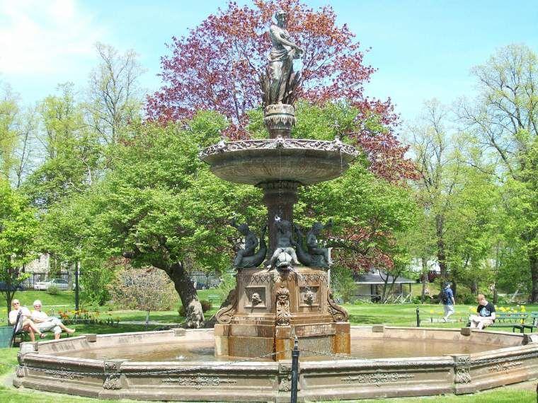 Fountain- Halifax Public Gardens