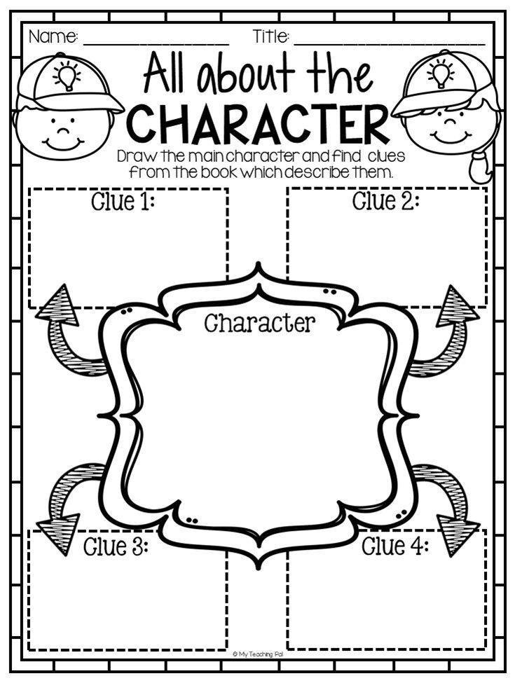 Character reading response worksheet. This huge Reading
