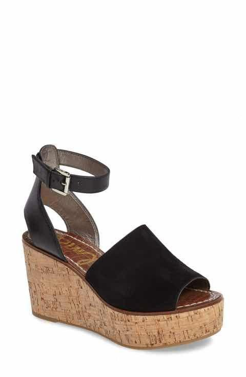 4ad4e028f Sam Edelman Devin Platform Wedge Sandal (Women)  Platformpumps ...