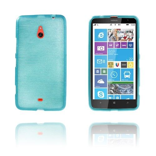 Brush (Blå) Nokia Lumia 1320 Skal