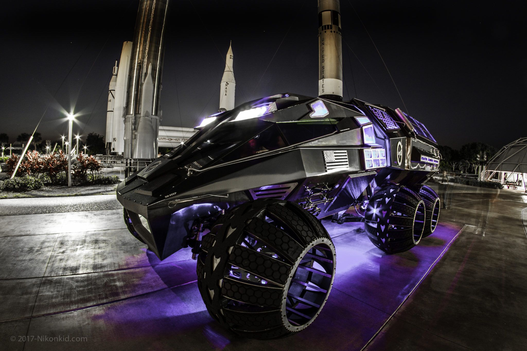 2020 Mars Rover Parker Brothers Concepts Mars rover