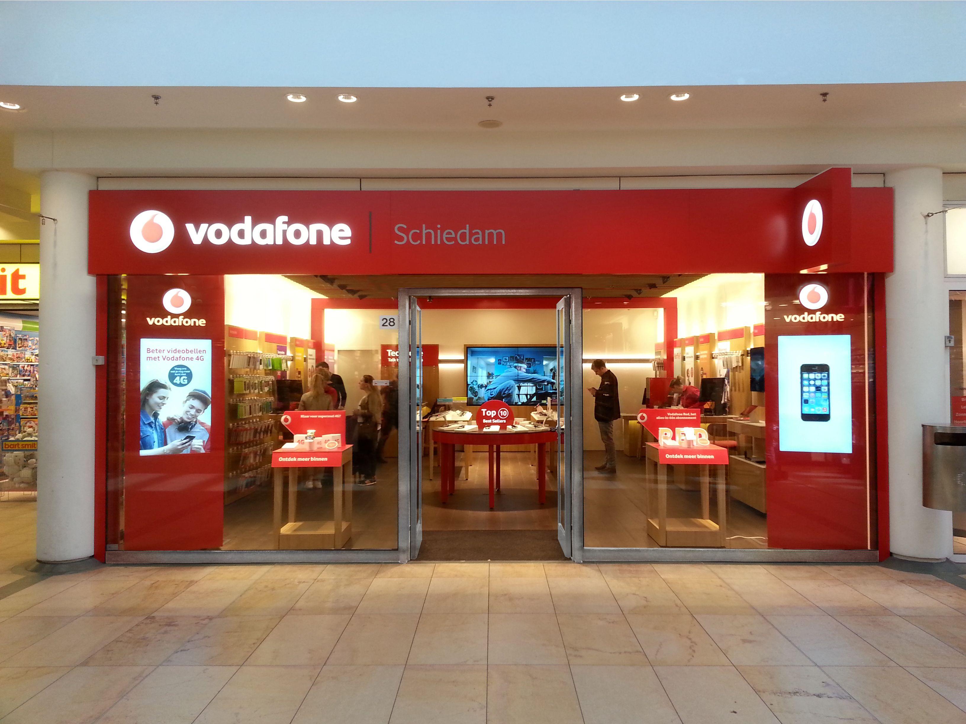 Vodafone Store, Athens, Greece Vodafone store, Retail