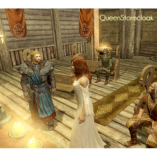 Ulfric Stormcloak wedding Skyrim / Dovahkiin / The Elder