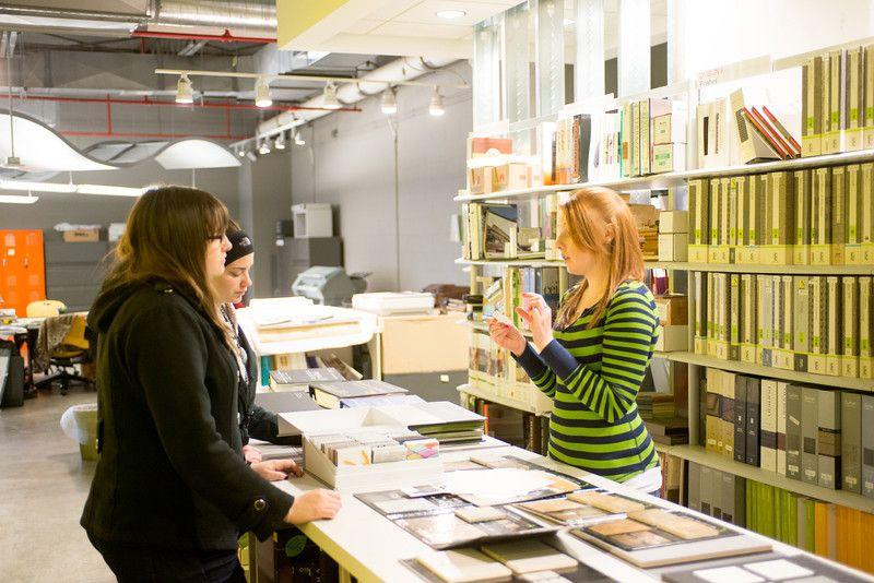 Interior Design Materials Library