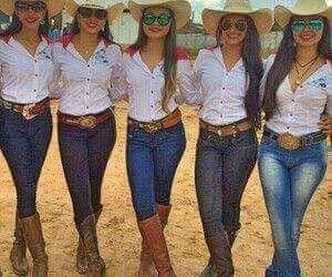 Pin de milley en moda Pinterest Vaqueros Fiesta vaquera y