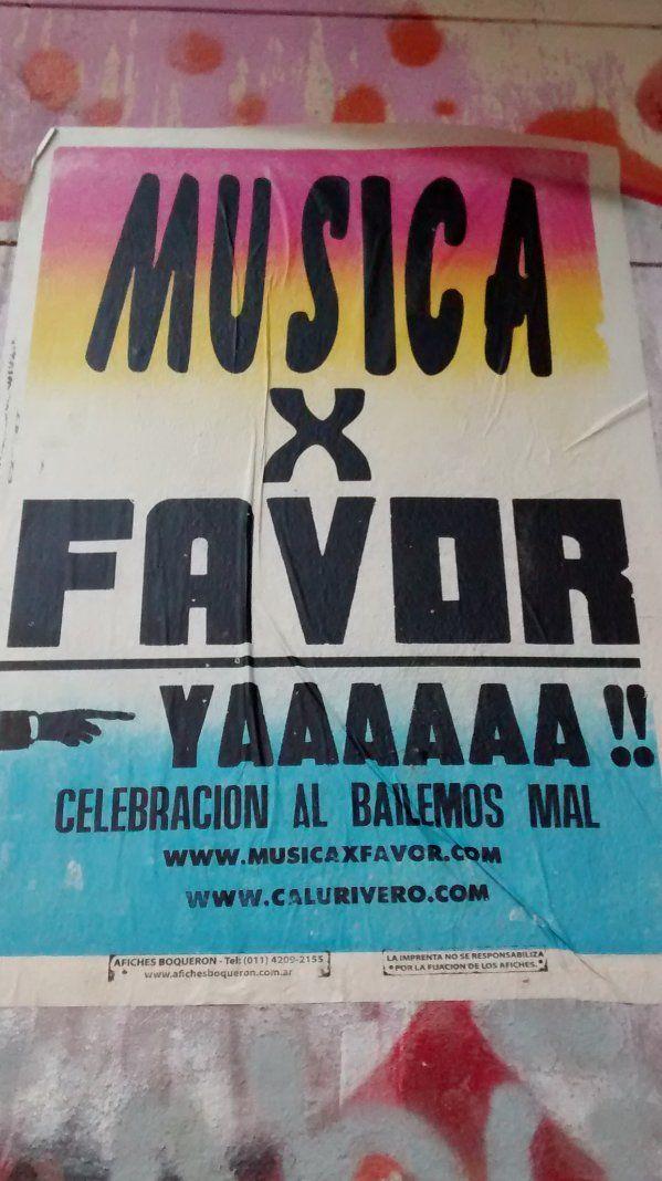 ¡MUSICA X FAVOR!